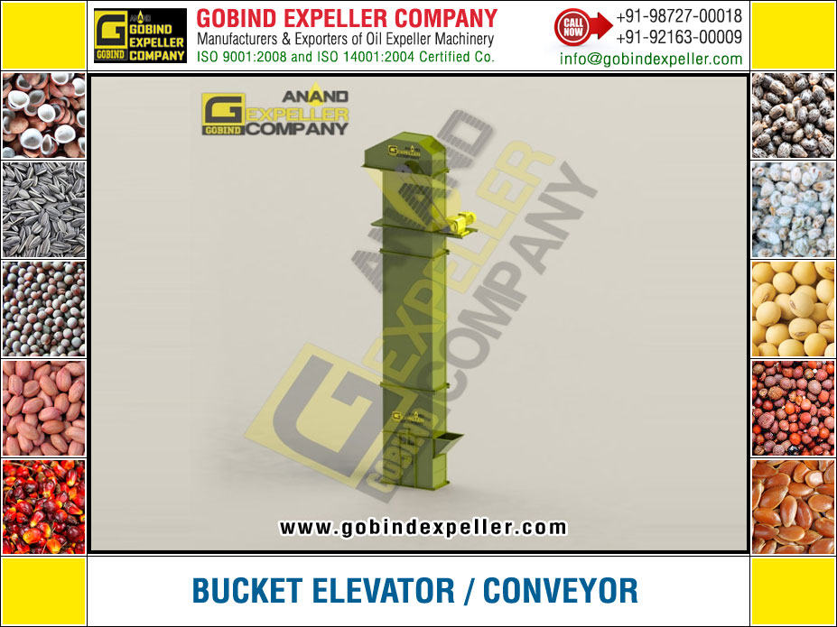 Bucket Elevator Conveyor manufacturers exporters suppliers Sellers Distributors Dealers in India Punjab Ludhiana