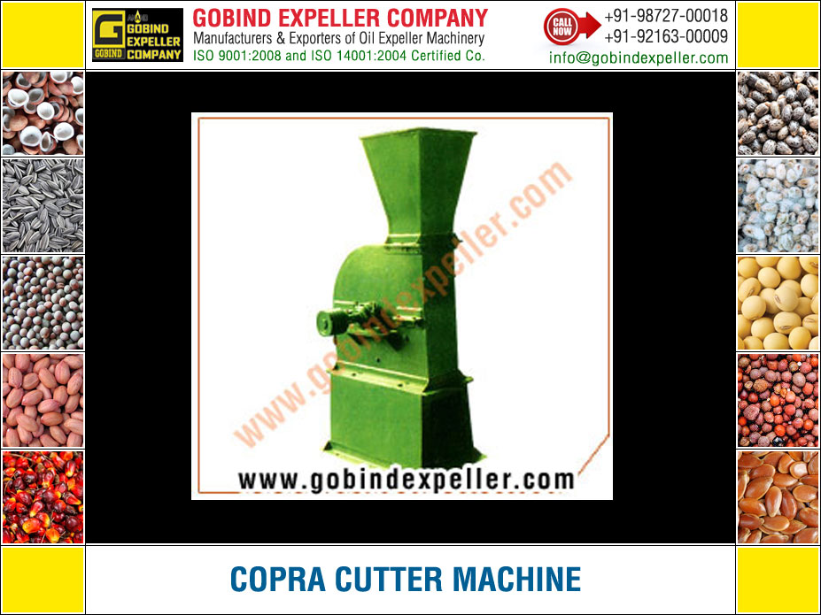 Copra Cutter Machine manufacturers exporters suppliers Sellers Distributors Dealers in India Punjab Ludhiana