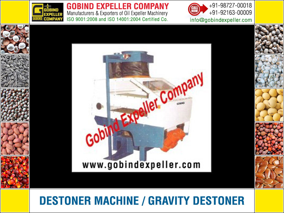 Destoner Machine manufacturers exporters suppliers Sellers Distributors Dealers in India Punjab Ludhiana