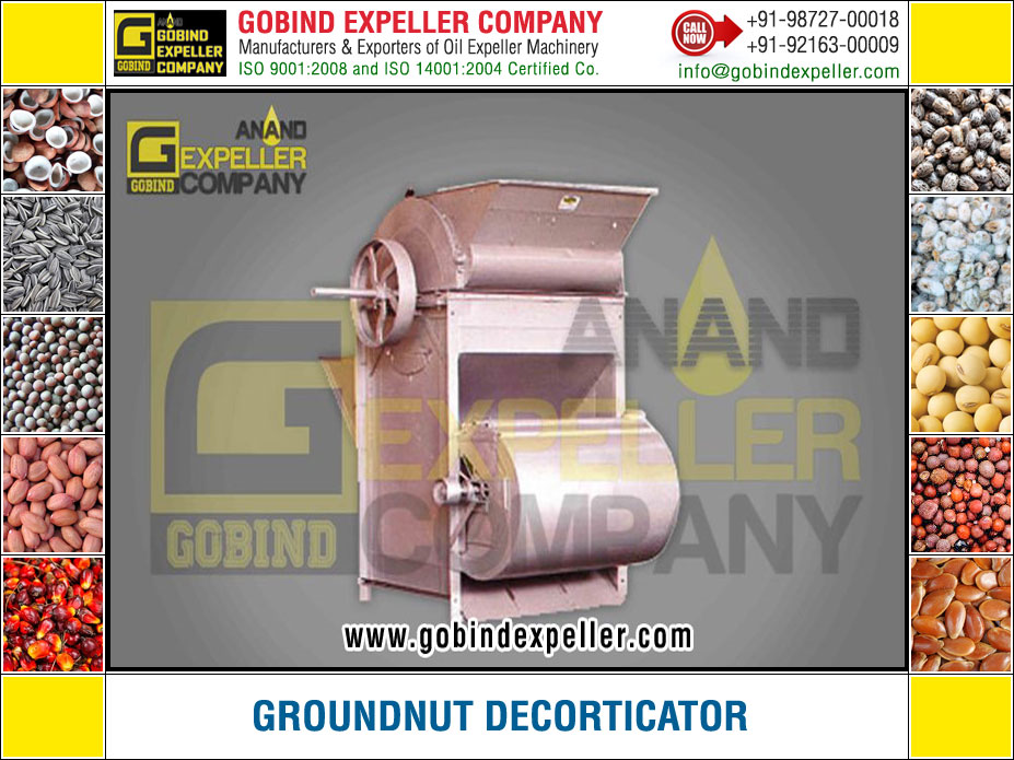 Groundnut Decorticator manufacturers exporters suppliers Sellers Distributors Dealers in India Punjab Ludhiana