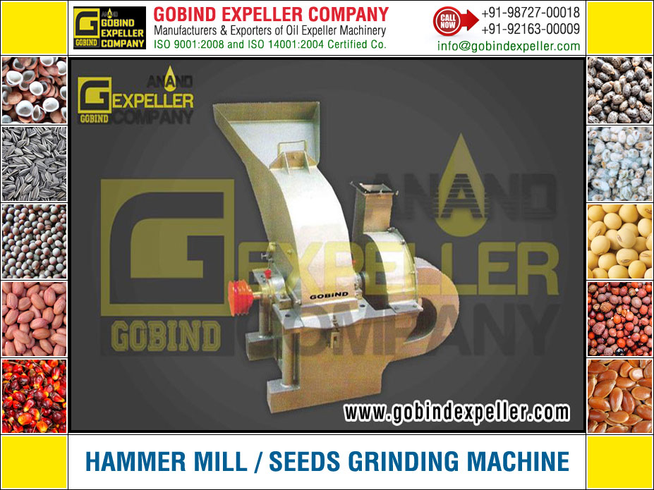 Hammer Mill - Seed Grading Machine manufacturers exporters suppliers Sellers Distributors Dealers in India Punjab Ludhiana