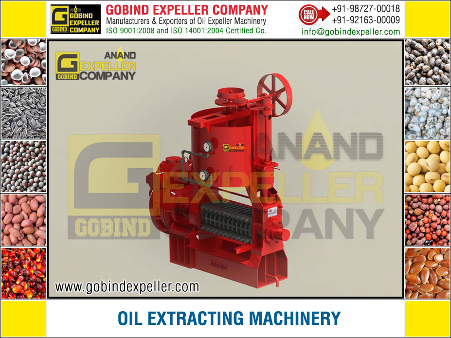Oil Extracting Machinery manufacturers exporters suppliers Sellers Distributors Dealers in India Punjab Ludhiana