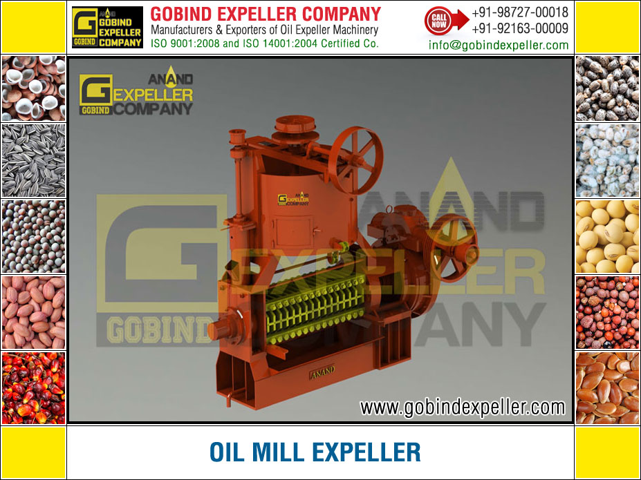 Oil Mill Expeller manufacturers exporters suppliers Sellers Distributors Dealers in India Punjab Ludhiana