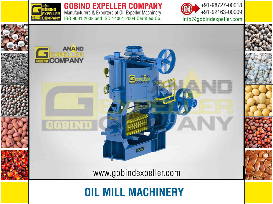 Oil Mill Machinery manufacturers exporters suppliers Sellers Distributors Dealers in India Punjab Ludhiana
