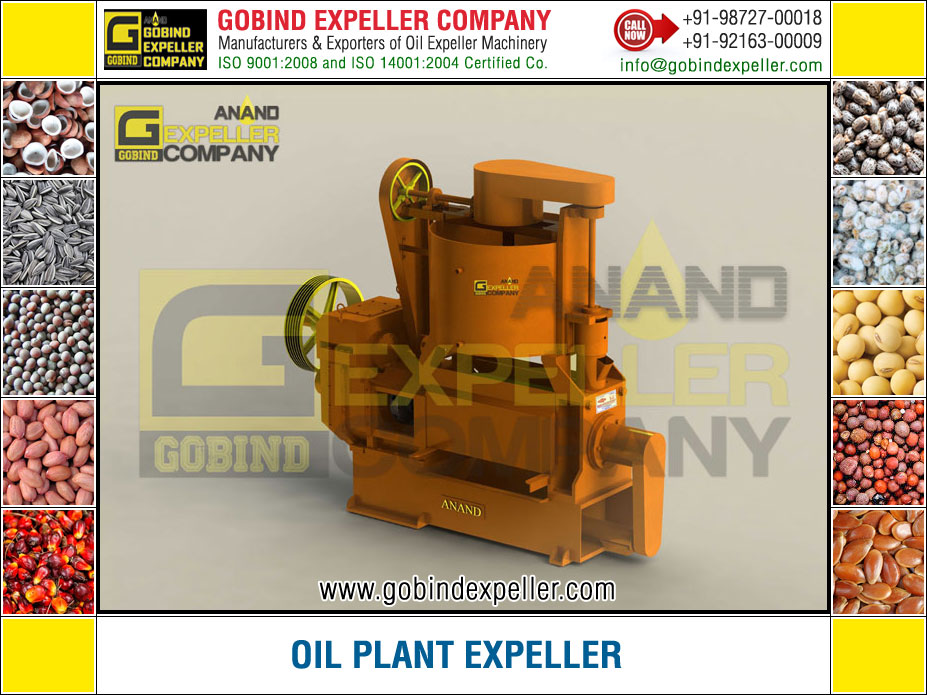 Oil Plant Expeller manufacturers exporters suppliers Sellers Distributors Dealers in India Punjab Ludhiana