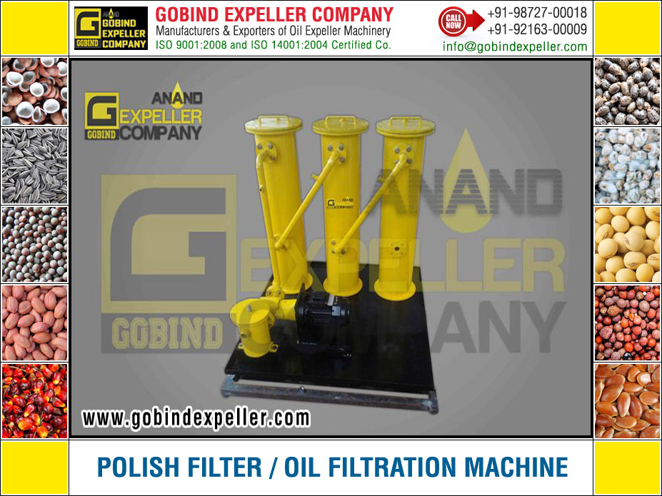 Polish Filter - Oil Filteration manufacturers exporters suppliers Sellers Distributors Dealers in India Punjab Ludhiana