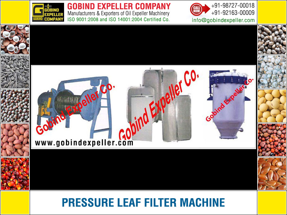 Pressure Leaf Filter Machine manufacturers exporters suppliers Sellers Distributors Dealers in India Punjab Ludhiana