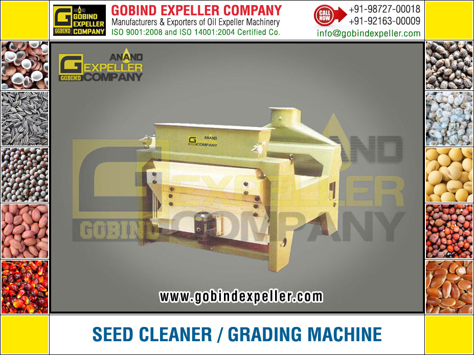Seed Cleaner - Seed Grading Machine manufacturers exporters suppliers Sellers Distributors Dealers in India Punjab Ludhiana