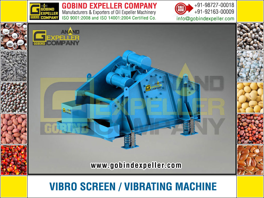 Vibro Screen manufacturers exporters suppliers Sellers Distributors Dealers in India Punjab Ludhiana