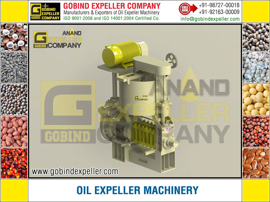 Oil Expeller Machinery manufacturers exporters suppliers Sellers Distributors Dealers in India Punjab Ludhiana