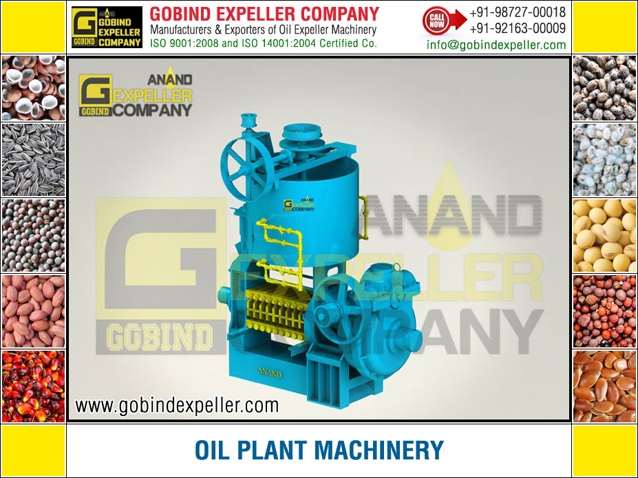 Oil Plant Machinery manufacturers exporters suppliers Sellers Distributors Dealers in India Punjab Ludhiana
