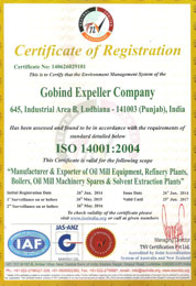 quality certification by moody international for quality oil extraction mill machinery